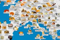 World Cheese Map: These are the World's 879 Most Popular Cheeses