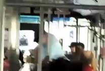 67 year old Vietnam Vet gets harrassed by a punk on the bus