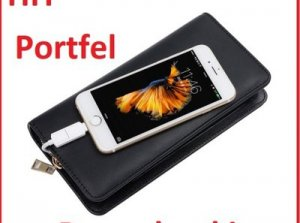 Portfel z Power bankiem 6000mAh HIT