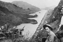 Relive the Panama Canal's colossal construction in photos