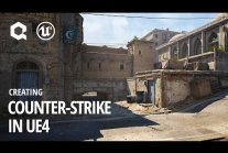 Mapa de_dust2 z Counter-Strike na silniku Unreal Engine 4 [ENG]