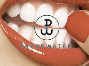 paperwater.co i ich logotyp.