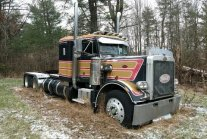 Rescuing a 1977 Peterbilt 359 From Its Grave