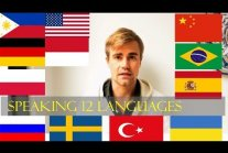 Russian polyglot speaks 12 languages (with...
