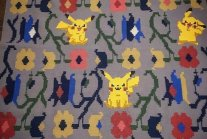 Ukraine's Traditional Rugs In Combination With Pokémon And Star Wars
