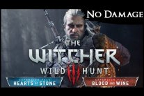 The Witcher 3 - All Bosses on Death March【No Damage, Signs*, Potions,...