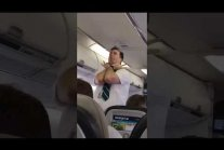 WestJet - Funniest steward ever!
