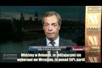 Nigel Farage: Barroso to kompletny idiota