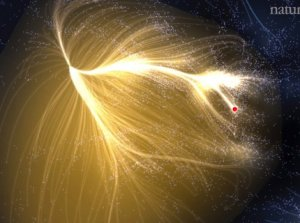 New Galactic Supercluster Map Shows Milky Way's 'Heavenly' Home