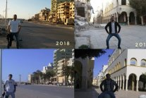 """Libya """"Before And After"""" Photos Go Viral"""