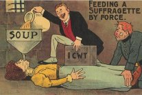 Propaganda Postcards Warning Men About The Dangers Of Women's Rights From...