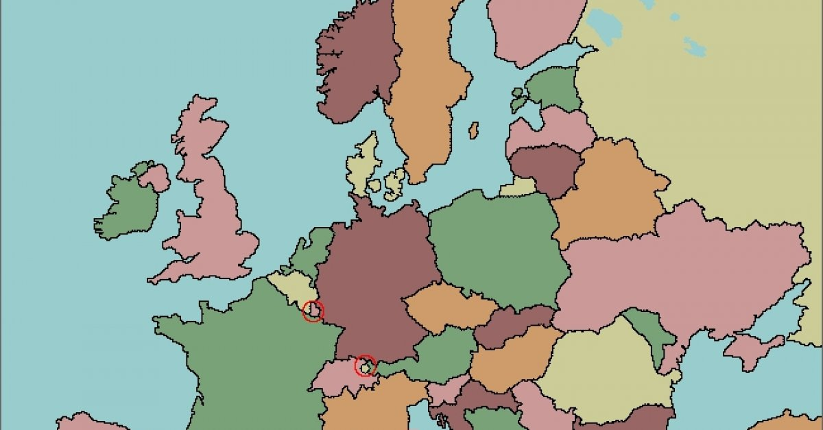 Test Your Geography Knowledge Europe Countries Quiz Wykop Pl